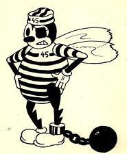 """RARE DESSIN ORIGINAL PAR P.BOURGEON-L'ABEILLE """" BUZY""""-1938-UNIQUE-encre de chine"""