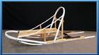 Glider Dog Sled Wood Wooden Kit
