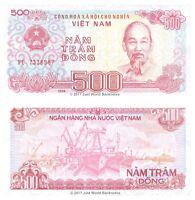 Vietnam 500 Dong 1988  P-101a  Banknotes UNC