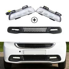 Fits For Smart Fortwo 2013-2015 Led Daytime Running Light Fog Lamp W/ Bumper 12V