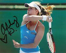 Ashley Harkleroad TENNIS 8x10 Photo Signed Auto COA