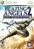 Blazing Angels 2 Secret Missions Xbox 360 For Xbox 360 Very Good 9E