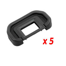 5pcs Rubber EyeCup Eyepiece As Canon EB For 70D 60D 50D 6D 5D Mark II 5D2