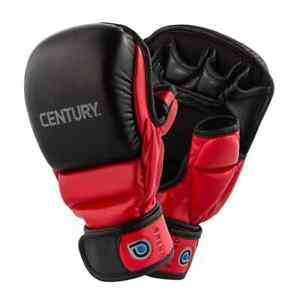 Century Drive Open Palm Training Mitts Red/Black Size L New 141023P