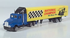 "Kenworth Champion Motorcycle Racing Team Semi Truck 7.25"" Diecast Scale Model"