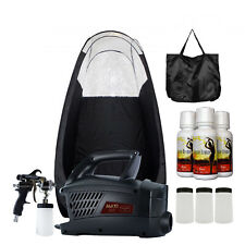 MaxiMist Evolution Pro, Spraytanning system with Blk Tent and TBT Sunless Spray