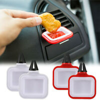2PCS Saucemoto Dip Clip | An in-car Sauce Holder For Ketchup And Dipping Sauces