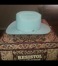 Vintage resistol cowboy hat 6 5/8