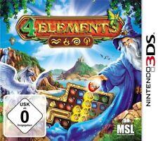 4 ELEMENTS NINTENDO 3ds NUEVO Y EMB. orig.
