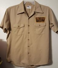 VINTAGE Admiral PRE-OWNED Television & Appliances Size Large  Brown Workshirt