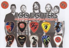 FOO FIGHTERS - A5 SIZE  - GUITAR PICK DISPLAY