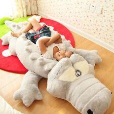 New Oversized Crocodile Plush Pillow Nap Mat Stuffed Toy Various Size 60-130cm