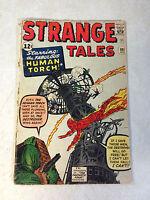 STRANGE TALES #101 KEY ISSUE, HUMAN TORCH, KIRBY, ORIGIN FANTASTIC FOUR, DITKO