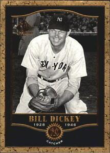 2001 (YANKEES) SP Legendary Cuts #79 Bill Dickey