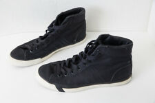 PRO KEDS Men's Black Canvas Lace Up High Top Sneakers Shoes Size 10 M