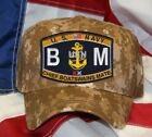 NAVY RATING BM CHIEF BOATSWAINS MATE NAVY HAT PATCH