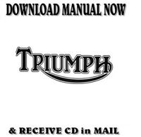 2005-10 TRIUMPH Speed Triple Factory Service Repair Manual on CD