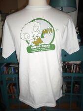 Stewie L Family Guy Salary Demands Lazer Gun White T-Shirt