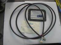 Fiat 600 D,E, Speedometer Cable/Trasmissione Contachilometri 2,440mm Org 4065742