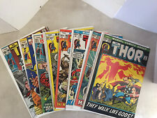 Marvel Silver Age Thor Lot Of 8Books