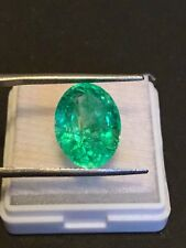 8.15 cts. Natural Transparent Colombian Emerald Estate Collection Lot 858