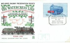 Mid-Hants Railway Bulk offer of railway letter stamp covers - 280 covers