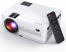 Full HD 6000 Lumens 1080P Portable Home Theater Movie Video LCD Projector HDMI