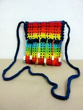 ND 06 CROCHET KNIT SHOULDER BAG S HANDICRAFT CROSSBODY SLING WEAVE HANDMADE HOBO