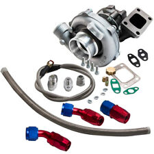 T04E T3/T4 .63 A/R 57 TRIM TURBO COMPRESSOR STAGE III+OIL FEED&RETURN LINE KIT