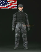 "1/6 Tactical Military Camouflage Combat Set 12"" For Phicen Hot Toys Male USA"