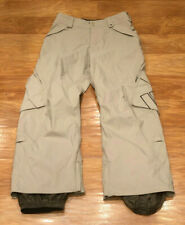 $300 Burton Brown Snow Ski Snowboard Pants Mens Medium Gore-Tex Arc'teryx spyder