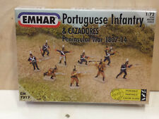 Portuguese Infantry Peninsular War 1807-14 Figures  Soldiers  Emhar 1/72 N°7217