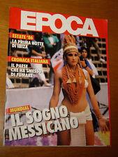 EPOCA 1986/1862=MEXICO MUNDIAL=JACEK PALKIEWICZ=ANGELO BRANDUARDI=BORIS TISSOT