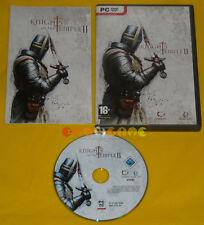KNIGHTS OF THE TEMPLE II 2 Pc Versione Ufficiale Italiana Knight »»»»» COMPLETO