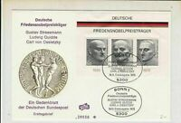 Germany 1975 Bonn 1 Cancels Famous Men Stamps FDC Cover Ref 29891