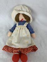 "Knickerbocker The Original Holly Hobbie 1976 Bi-Centennial 12"" Cloth Rag Doll"