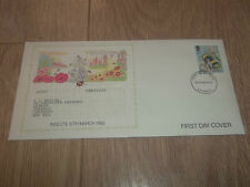 POST OFFICE FIRST DAY COVER INSECTS ~ 12 MARCH 1985 LIVERPOOL