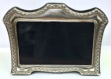 Solid Silver Mum And Dad Silver Wedding Anniversary Picture Photo Frame 219.2g