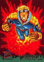 CANNONBALL / X-Men Fleer Ultra 1995 BASE Trading Card #114
