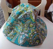 Vera Bradley sun hat in retired Peacock pattern