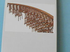 Curved timber trestle bridge N SCALE BY JV MODELS #1016