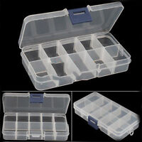 New Empty Storage Container Box Case for Nail Art Tips Rhinestone Gems+ TB