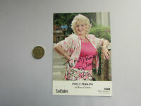 Rose COTTON / Polly PERKINS  Original EASTENDERS  hand signed picture
