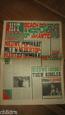HITWEEK # 35 - 18 MAY '67P.P. ARNOLD DUTCH BEAT  HAIGS BEAT PSYCH HIPPIE MAG