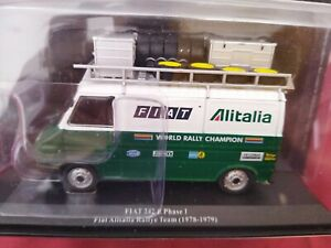 ASISTENCIA 1/43 , FIAT 242 E PHASE1 ALITALIA RALLYE TEAM 1978