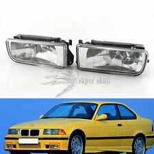 Crystal Fog Lights Driving Lamp Housing Case for BMW 3-Series E36 316i 92-98 96