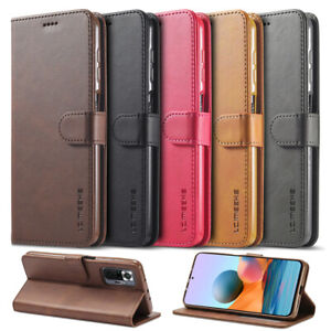 For Xiaomi Redmi Note 10 Pro Max / 10S Luxury Leather Magnetic Wallet Case Cover