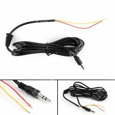 2Stk 3.5mm Stereo Audio Male to 2 Female Headset Mic Y Splitter Kabel Adapter