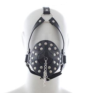 Open Mouth Plug Hole Gag with Head Harness - Bondage Ball Gag Toilet