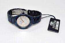New Festina Ladies Analog Quartz Watch Stainless Bracelet Trend only F16923/1